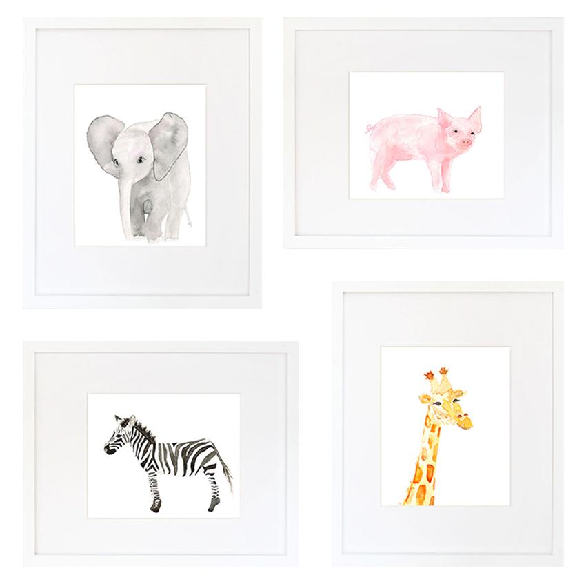 animals-4framed